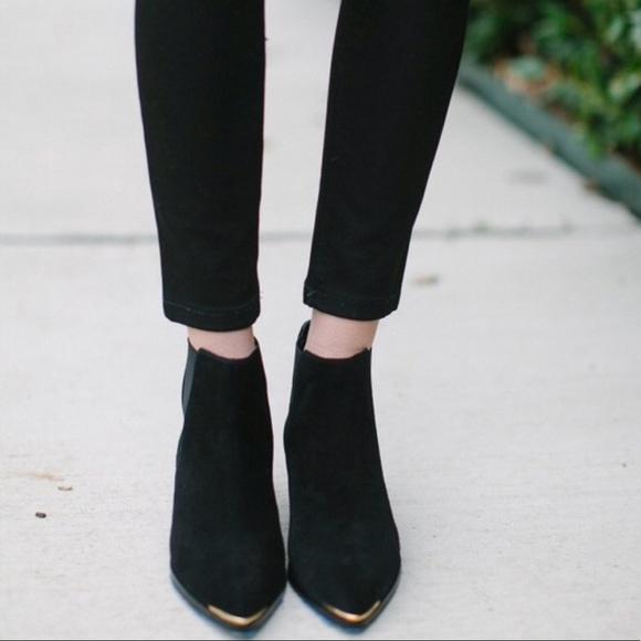 Marc Fisher Yale Suede Chelsea Booties